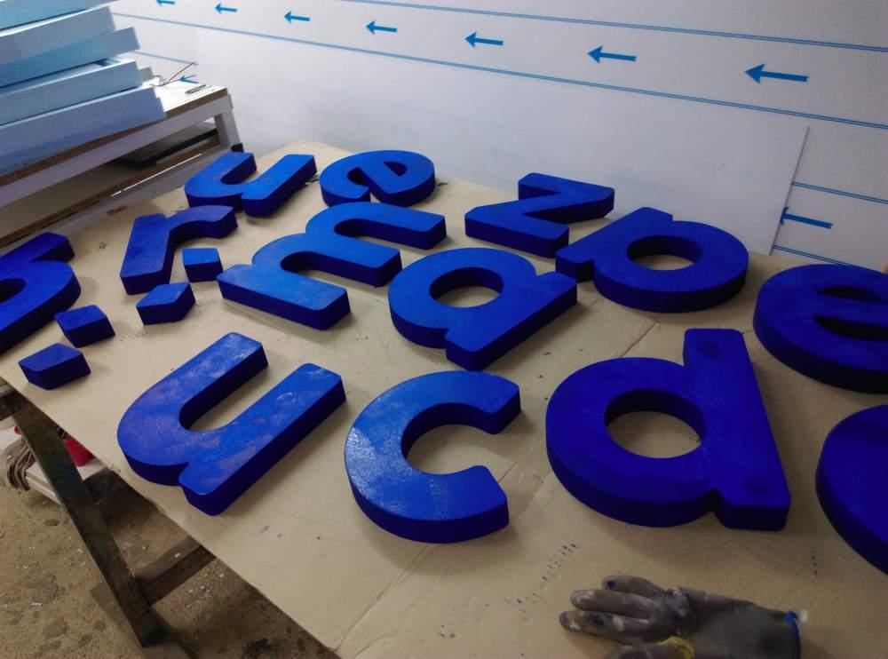 3D betű készítés - Debrecen