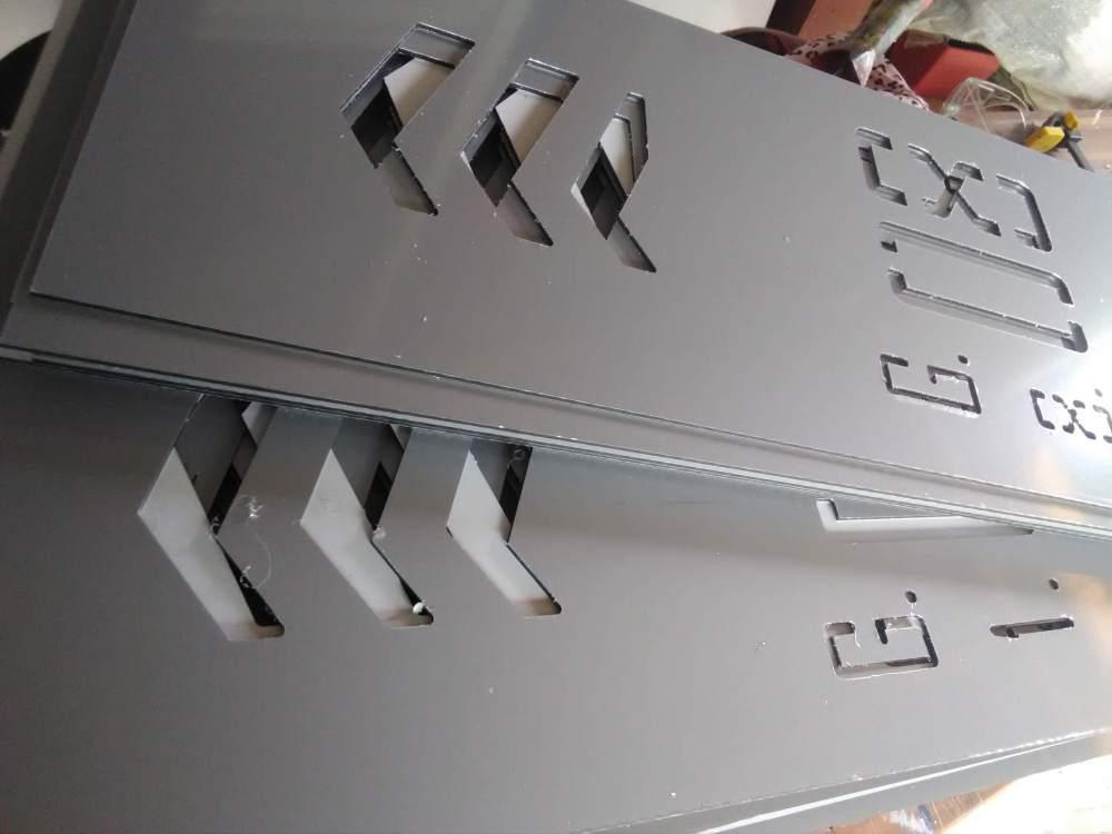 Alumínium kompozit lemez vágás