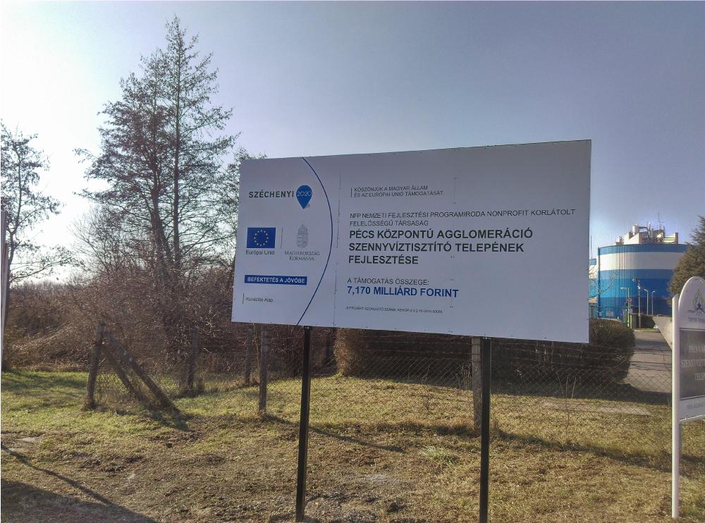 Projekt tábla készítés - Pécs