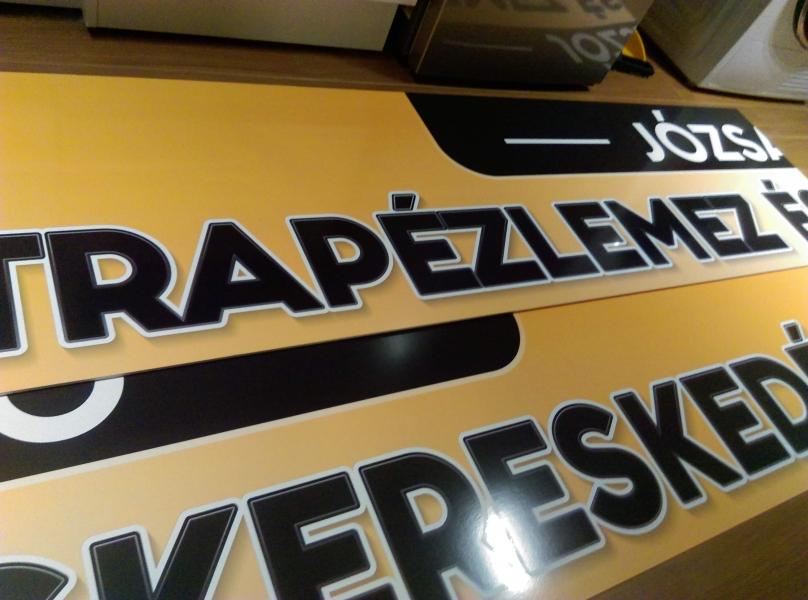 Reklámtábla, Cégtábla - Debrecen